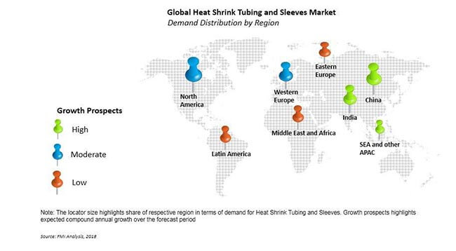 Global Heat Shrink Tubing And Sleeves Market Size