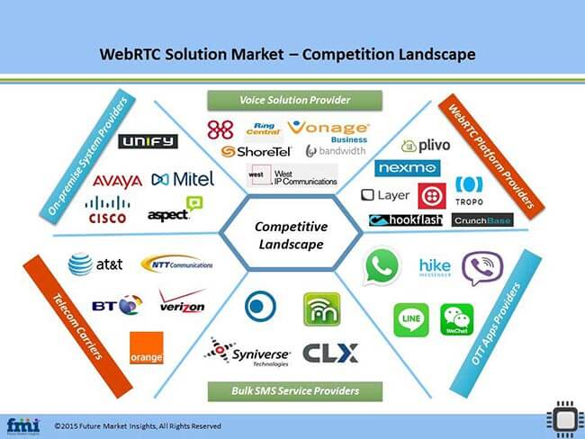 Web Real-time Communication (RTC) Solution Market Competition Landscape
