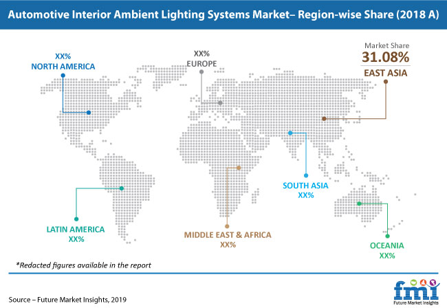 automotive interior ambient lighting systems pr image