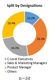 Primary Interview Splits split by designations oracle services market