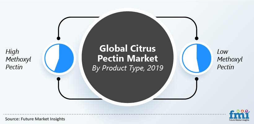 Global Citrus Pectin Market by Product Type, 2019