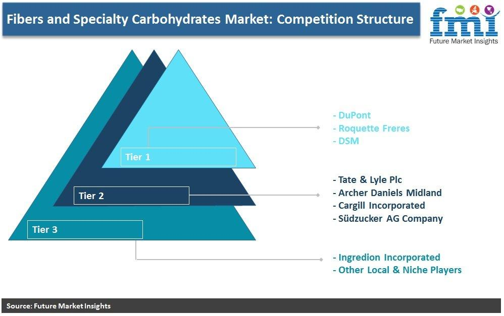 Fibers and Specialty Carbohydrates Market: Competition Structure