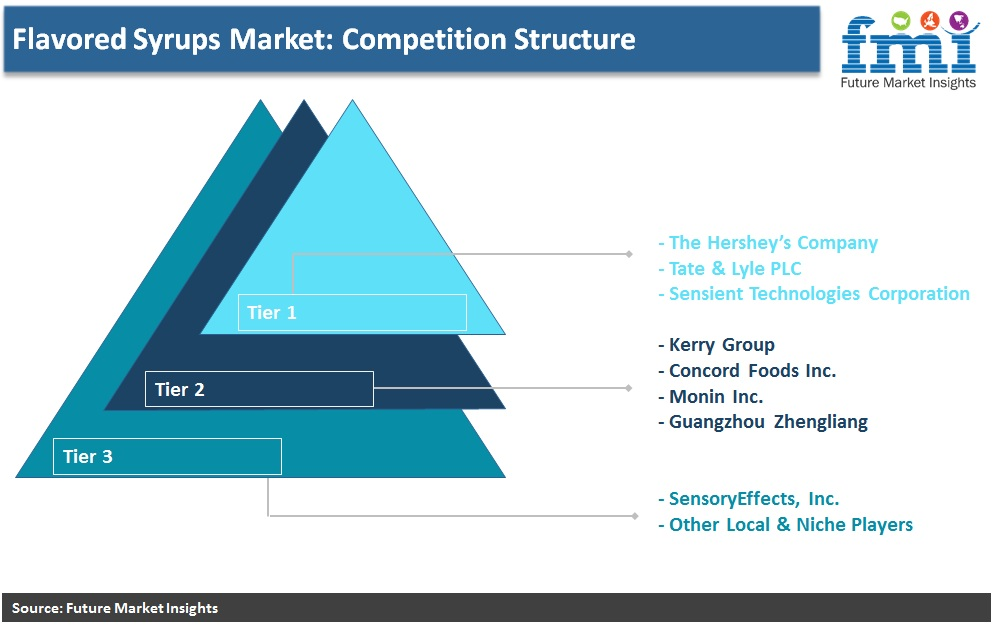 Flavored Syrups Market: Competition Structure