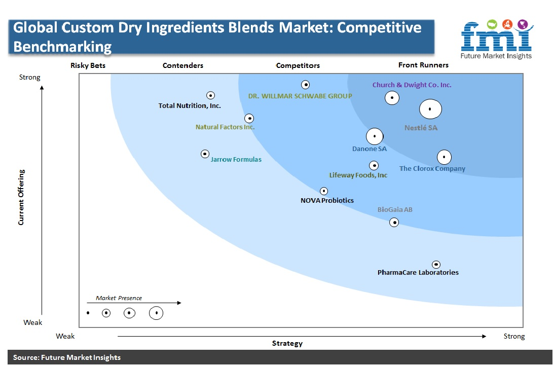 Global Custom Dry Ingredients Blends Market: Competitive Benchmarking