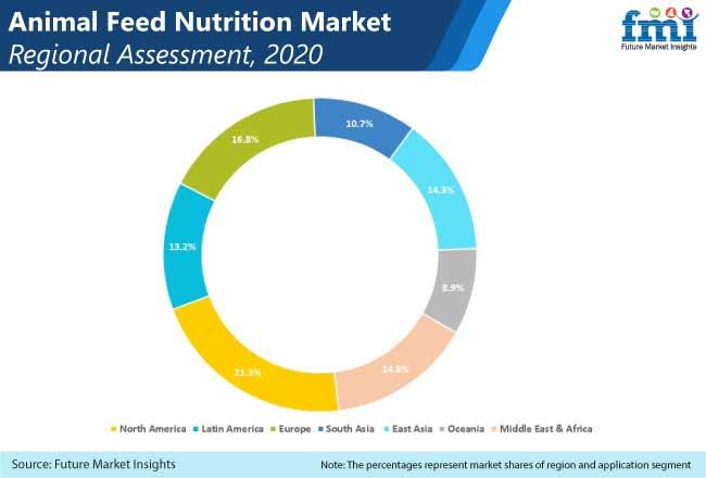 animal feed nutrition market regional assessment