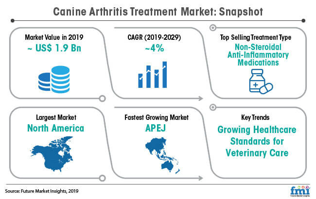 canine arthritis treatment market snapshot