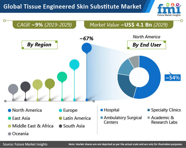 global tissue engineered skin substitute market