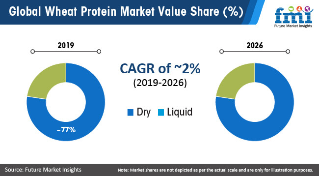 global wheat protein market value share