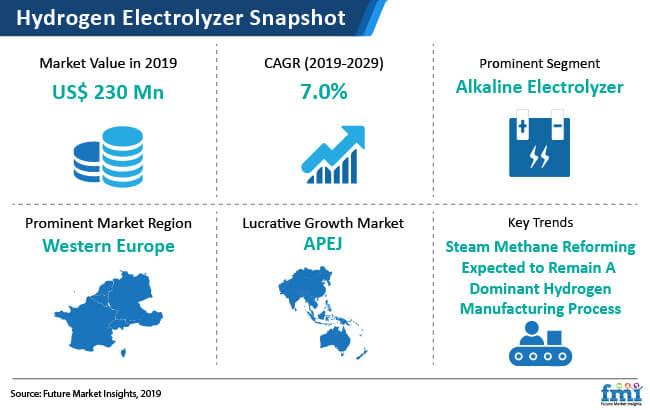 hydrogen electrolyzer market snapshot