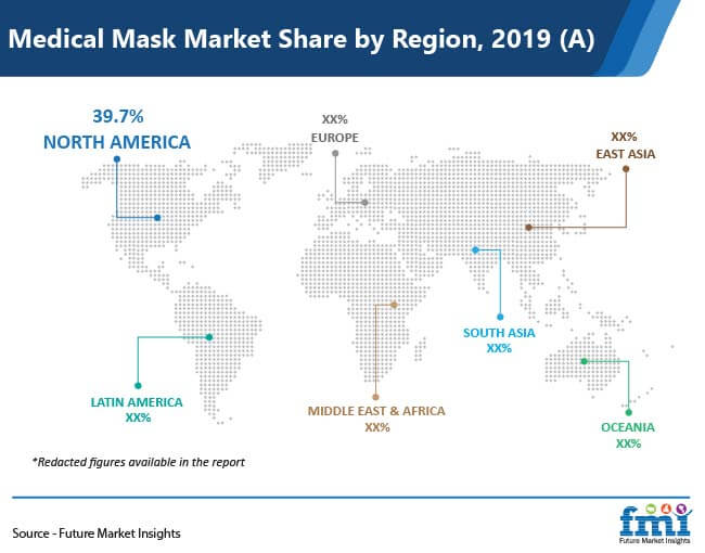 medical mask market share by region 2019 a 01