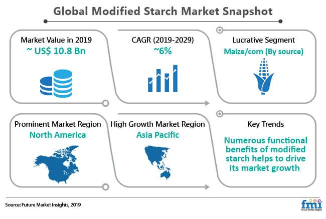 modified starch market snapshot