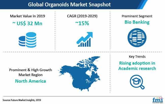 organoids market snapshot