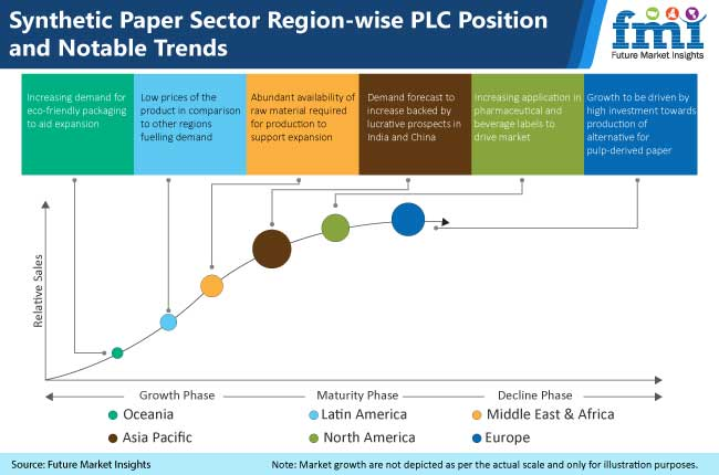 synthetic paper sector region wise plc position and notable trends