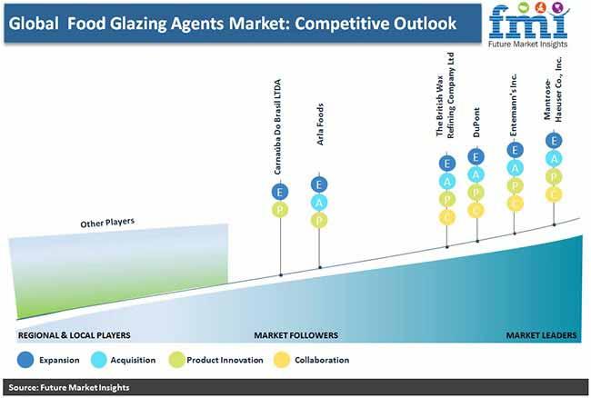 global food glazing market competitive outlook pr