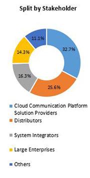 Primary Interview Splits cloud communication platform market stakeholder