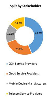 Primary Interview Splits content delivery network cdn market stakeholders