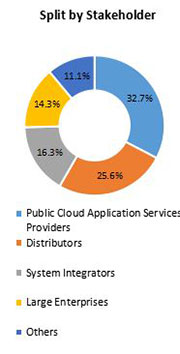 Primary Interview Splits public cloud application services market stakeholder