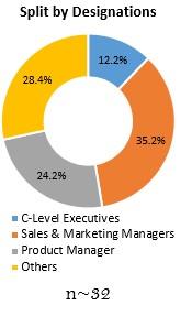 Primary Interview Splits split by designations aerial work platforms market